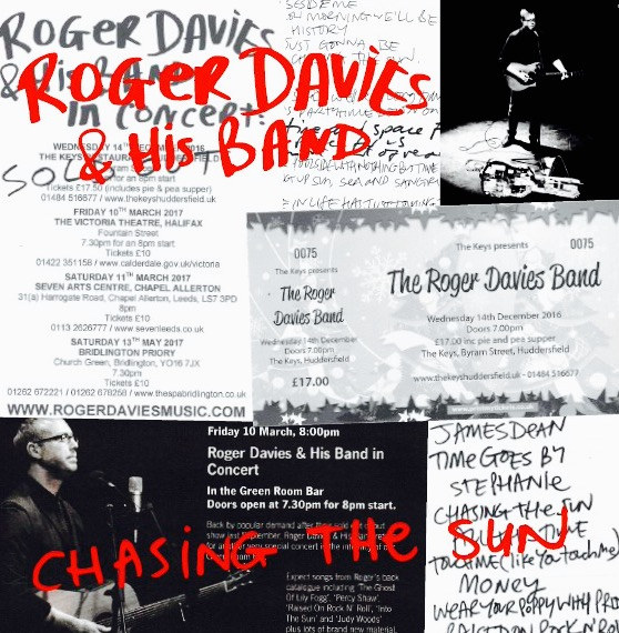 Roger Davies & his band - Chasing the Sun