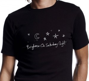 'Brighouse on a Saturday Night' T-Shirts