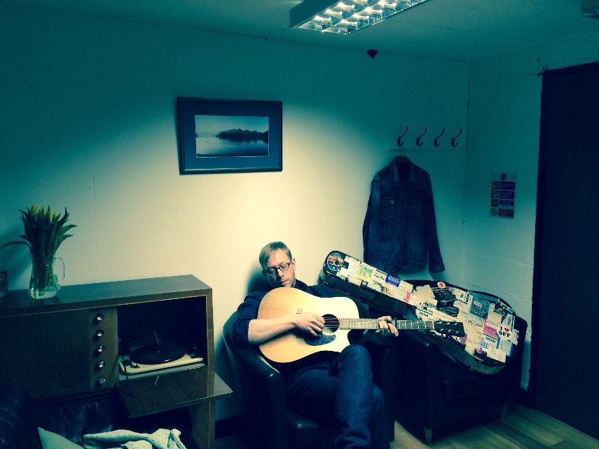 Roger Davies - backstage