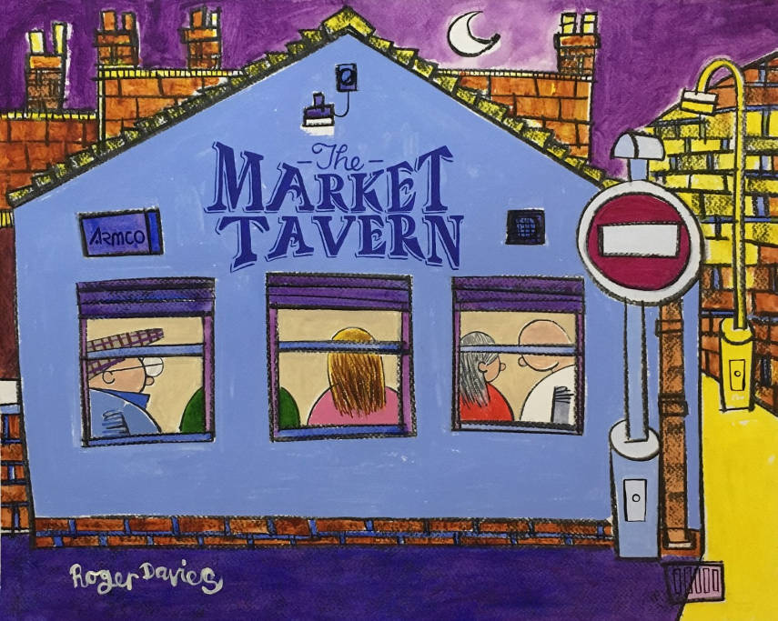 The Market Tavern In Brighouse On Saturday Night