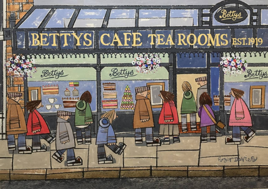 Betty's Cafe Tea Rooms In Ilkley