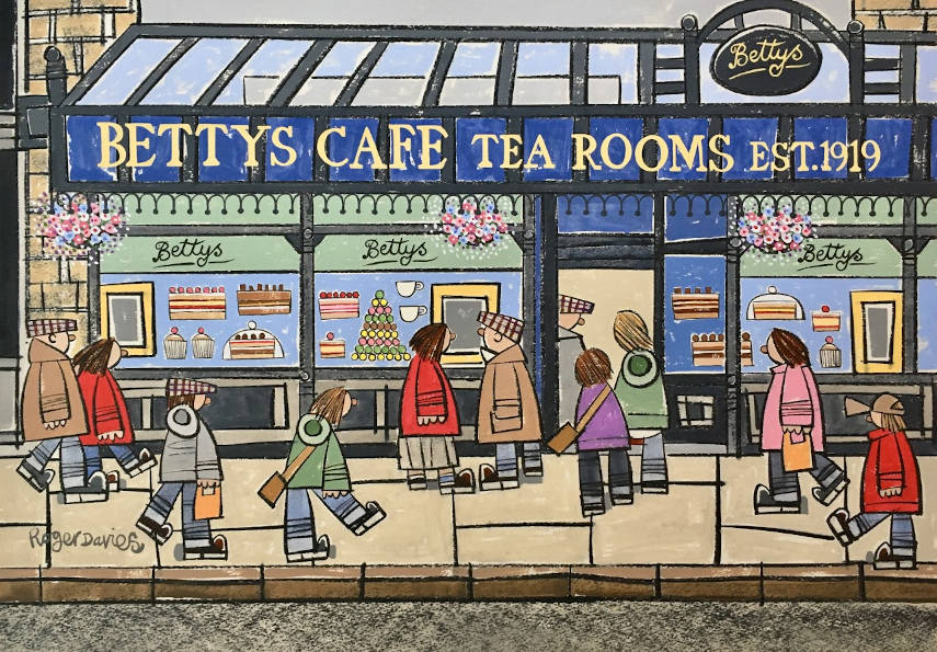 Betty's Cafe Tea Rooms, In Ilkley